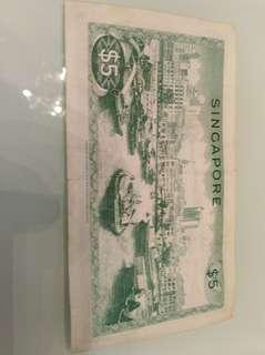 🚚 Singapore old note