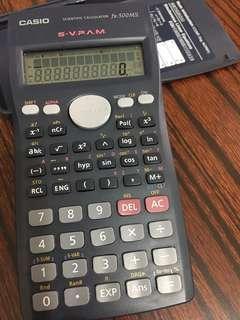 Casio Calculator fx-500MS 計數機