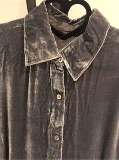 🚚 專櫃 絨布襯衫