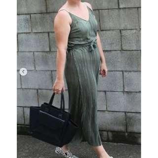Ruched Green Maxi Dress **(L)**