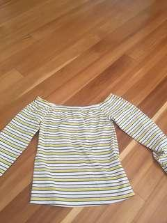 Stripey shirt size s