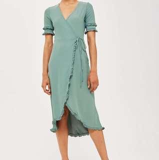 e3b0a809988b slip on dress in green | Women's Fashion | Carousell Singapore