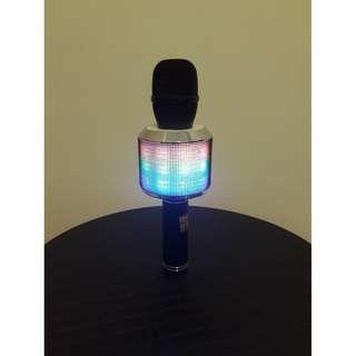 藍芽麥克風 加強重低音效果 七彩燈光 音質優 2.1聲道輸出