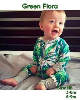 🚚 Printed Baby Sleepsuits