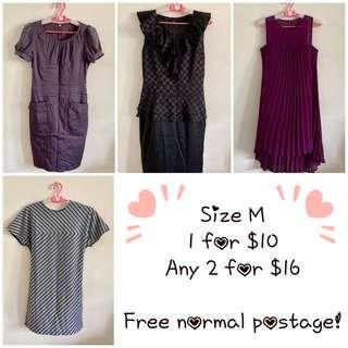 🚚 👗Any 2 for $16 - Size M (B2)
