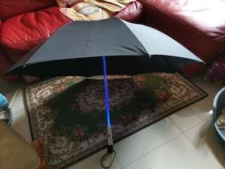 Star Wars Umbrella 星球大戰發光遮雨傘