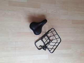 Dyu basket + saddle