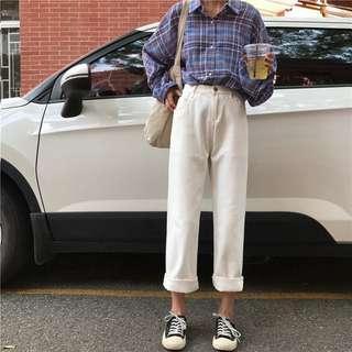 Beige Ulzzang jeans
