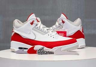 "Air jordan 3 tinker ""University Red """