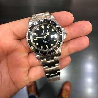 "Rolex Submariner 5513, ""Glossy"" ""Spider"" Dial"