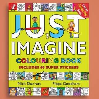 Just Imagine Colouring Book