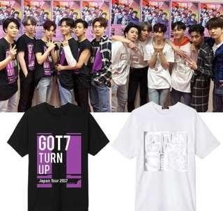 [PO] Got7 - Turn Up Tour 2017 Shirt