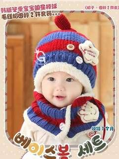 🚚 Baby Beanie and Scarf