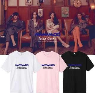 [PO] Mamamoo - Wind Flower Shirt