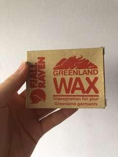 🚚 Fjallraven Greenland Wax