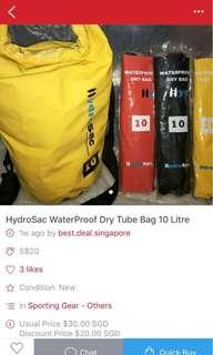 Buy one get one free ..Limited Period While stock lasts Waterproof Bag 40L 20L 10L while stock lasts