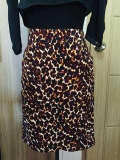 Imported(vietnam) Leopard Skirt