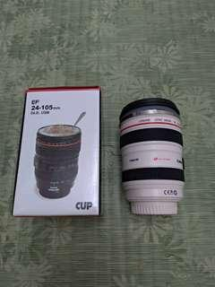 🚚 camian ef-24~105mm 鏡頭杯 環保杯 白色