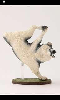 Animal Life狗舞蹈大師 Dancing Dog 扭蛋 哈士奇