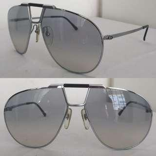🚚 Vintage Christian Dior Monsieur CD 2151 Sunglasses 63[]16 Aviator / Silver