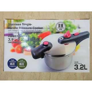3.2L Pressure Cooker w Safety Features