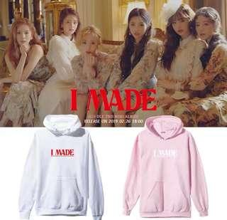[PO] (G)I-DLE - I MADE HOODIE