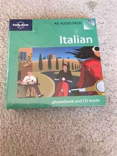 Lonely Planet Italian CD audio pack