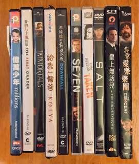好戲(DVD每套$40)