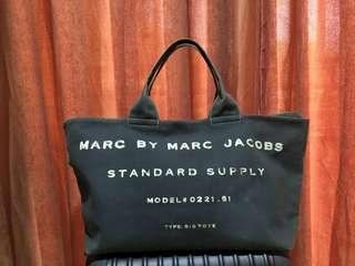 100 %. Authentic Marc By Marc Jacobs Tote Bag Canvas