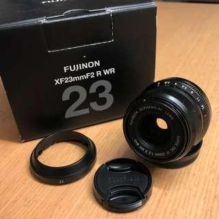 Fujifilm XF 23mm F2 WR
