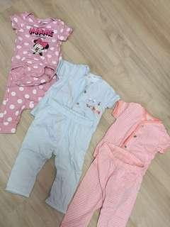 🚚 [ RESERVED ] Baby girl Set