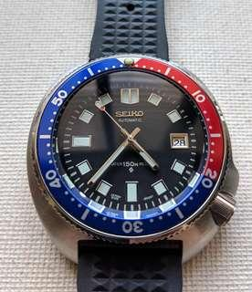 For Sale: Seiko 6105 8110 Automatic Homage with Pepsi Insert