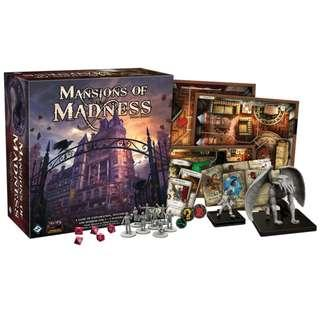 Mansions of Madness Second Edition w/ Expansions