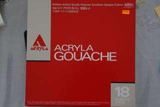 [New] Holbein Acryla Gouache in 20ml Tube (18)