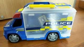 🚚 Police truck and accessories