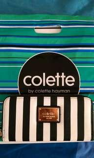 Colette Black and White Long Wallet #swapAU