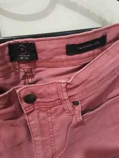 🚚 COTTON ON Pink Jeans Size30 XL