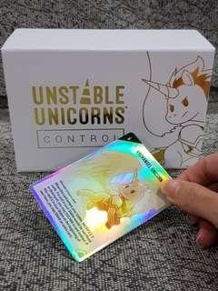 Unstable Unicorn Control + KSE Disaster Relief Card