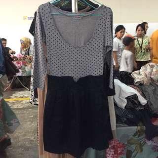 Zara Polka Dress