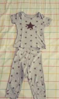 Bodysuits  Brown Star