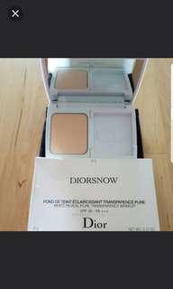 CD DiorSnow White Reveal Pure Transparency