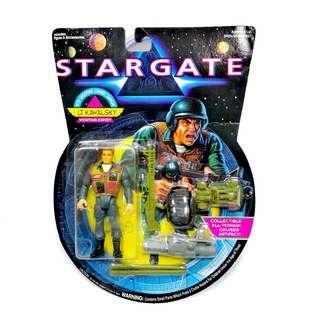 Stargate Lt. Kawalsky Weapons Expert Hasbro 1994 Action Figure