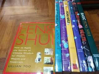 🚚 Feng Shui books collection by Lillian Too (All 7 books)