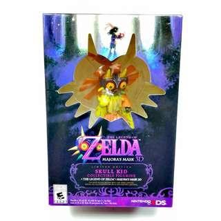 The Legend Of Zelda Majora's Mask 3D Nintendo 3DS Skull Kid Limited Edition