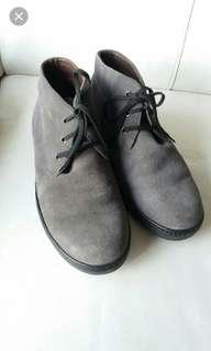Beverly hills Polo Club Men suede real leather shoes真皮牛皮磨皮鞋