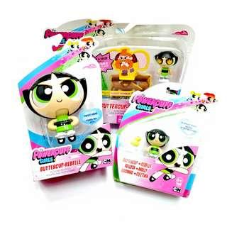 The POWER PUFF GIRLS Buttercup Rebelle Lot of 3