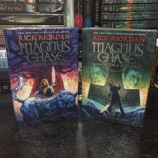 Magnus Chase book 1-2 HB