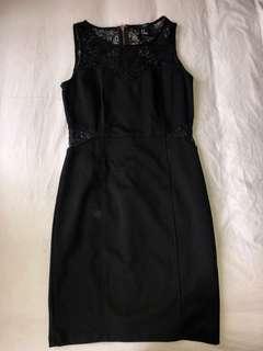 Dress Hitam Forever 21