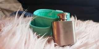 Hidden little flask