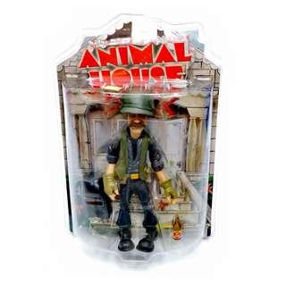 """Mezco 2004 Animal House D-Day 10"""" Action Figure Factory Sealed MIP Bruce McGill"""
